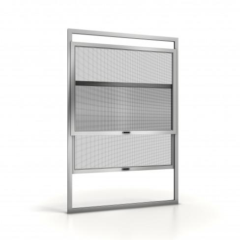 Zanzariera a pannelli scorrevoli verticale per finestre - Zanzariere scorrevoli per porte finestra ...