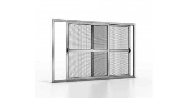 Zanzariera a pannelli mobili per finestre gold 02 - Pannelli oscuranti per finestre ...